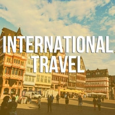 Homepage Category Grid International Travel