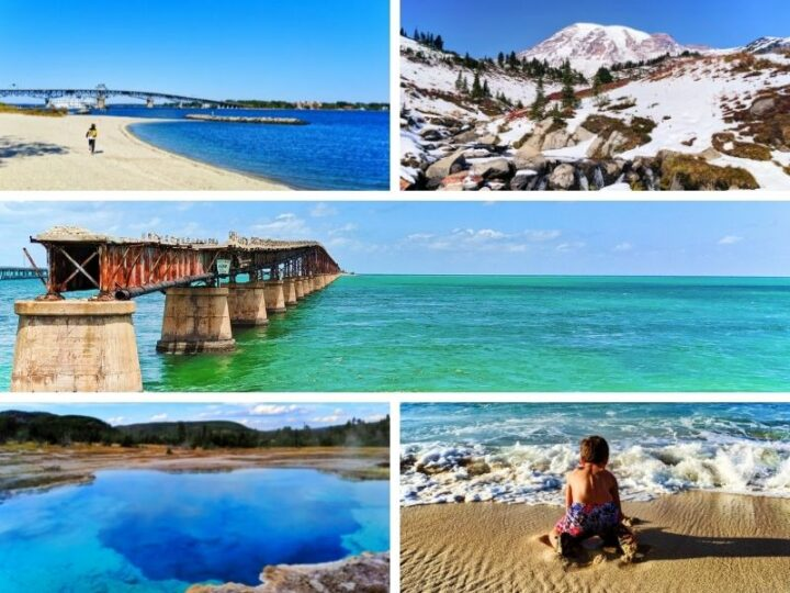 10 awesome USA road trips that you can plan now. From rugged Oregon to the Florida Keys, historic Virginia and Washington DC to western National Parks. Beautiful, fun USA road trips to look forward to.