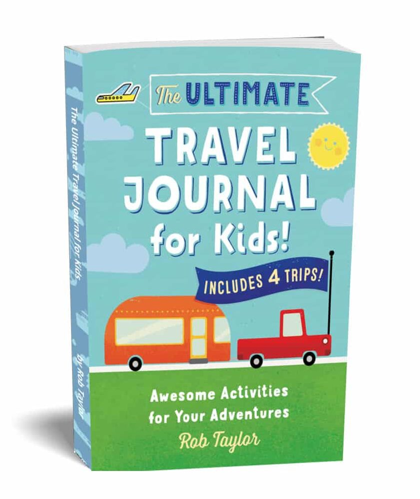 3D Ultimate Travel Journal For Kids
