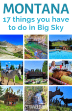 17 things to do in Big Sky, Montana from hiking to eating barbeque on the river, heading to the top of Lone Peak to so much more. And not stalking Tom Brady. #montana #bigsky #mountains #vacation
