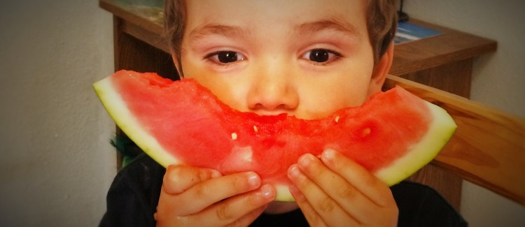 LittleMan Eating Watermelon 1 header