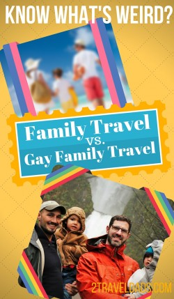Gay Family Travel pin