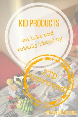 Kid products to make travel life easier with kids in tow. From toys to apps 2traveldads.com has some recommendations
