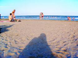 Beach on the Lido Venice Italy 1