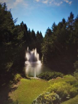 Buchart Gardens Fountain 1