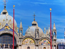 Facade of St Marks Basilica St Marks Square Venice Italy 1
