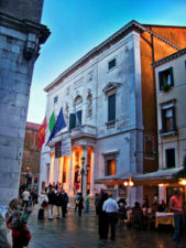 Fenice Opera House at Twilight Venice Italy 1