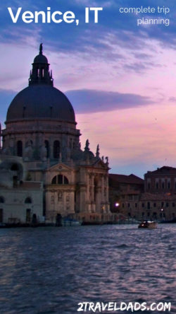 A trip to Venice, Italy should be relaxing and unforgettable. Easy plan for seeing the best sites, having the best experiences, and still saving money. 2traveldads.com