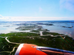 Venice from the Air aboard EasyJet from Marco Polo International Airport Venice Italy 1