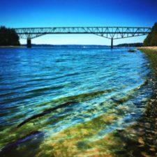 Agate Passage Bridge over Water