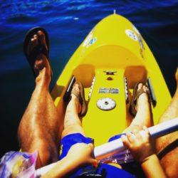 Taylor Family Kayaking on Liberty Bay Kitsap Peninsula 1