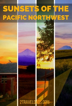 Sunsets of PNW pin