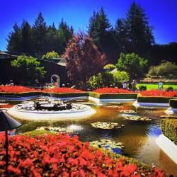 Butchart Italianate Gardens