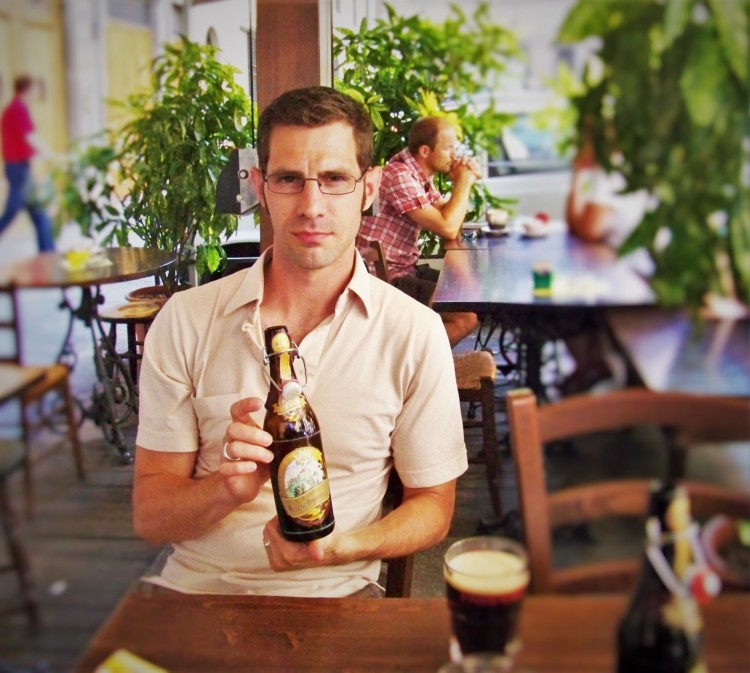 Chris Taylor Beer in Florence 1