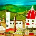 Florence Watercolor Painting 2