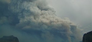 Glacier National Park Forest Fire Header