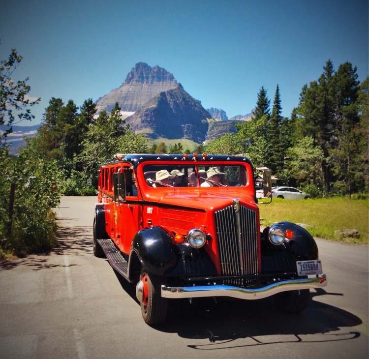 Glacier National Park Tour Bus 2