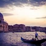 Grand Canal Venice Rainstorm 1