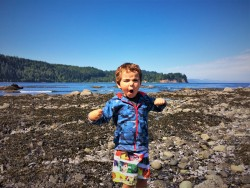 LittleMan at Salt Creek Tidepools 1