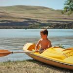 LittleMan in Kayak Deadhorse Lake 1