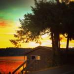 Poulsbo Boathouse at Sunset Liberty Bay 2traveldads.com