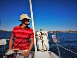 Rob Taylor Sailing Strait of Juan de Fuca Victoria BC