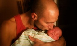 Rob Taylor and LittleMan baby 1