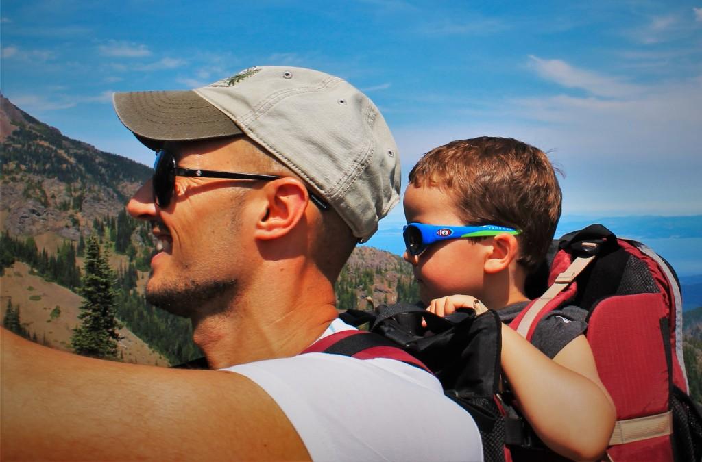RobTaylor and LittleMan at Hurrican Ridge Olympic National Park 2
