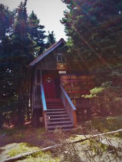 Ski Hut Hurricane Ridge Olympic National Park
