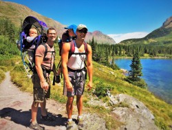 Taylor Family Hiking with kids Glacier National Park 2