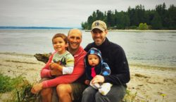 Taylor Family Old Man Beach Suquamish