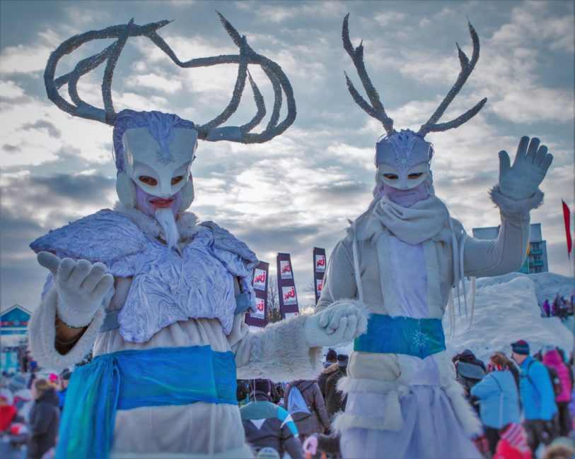 Costumes and Characters Winterlude Ottawa