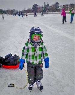 Skating Rideau Canal Winterlude Ottawa 2