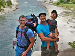 Taylor Family Yellowstone River 2traveldads.com