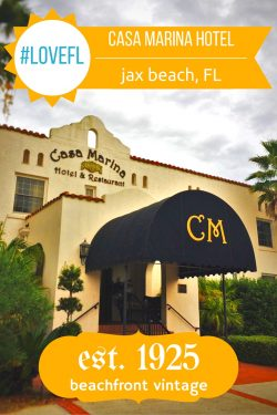 Casa Marina Hotel, an historic hotel in Jacksonville Beach, Florida, is perfect for family travel with beach access, surfers, sunsets, and great service!  2traveldads.com