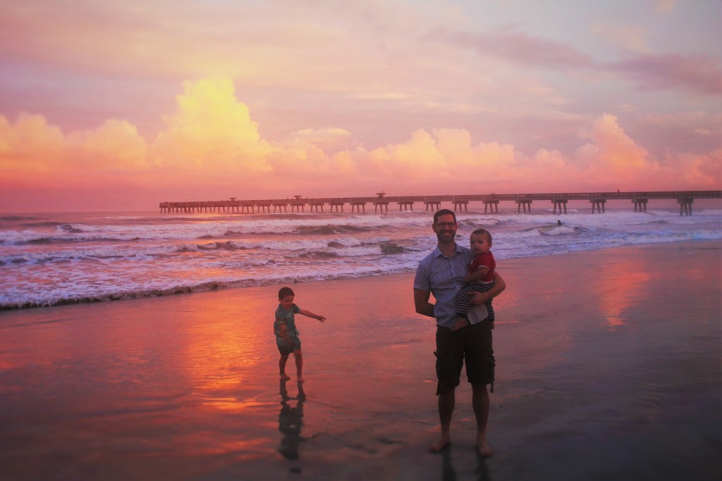 Chris Taylor and Dudes at Sunset Casa Marina Jax Beach 3
