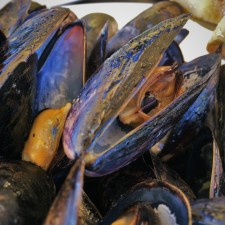 Mussels at Echo Restarant at King and Prince Resort St Simons GA 1