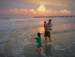 Chris Taylor and Dudes at Sunset Casa Marina Jax Beach 5
