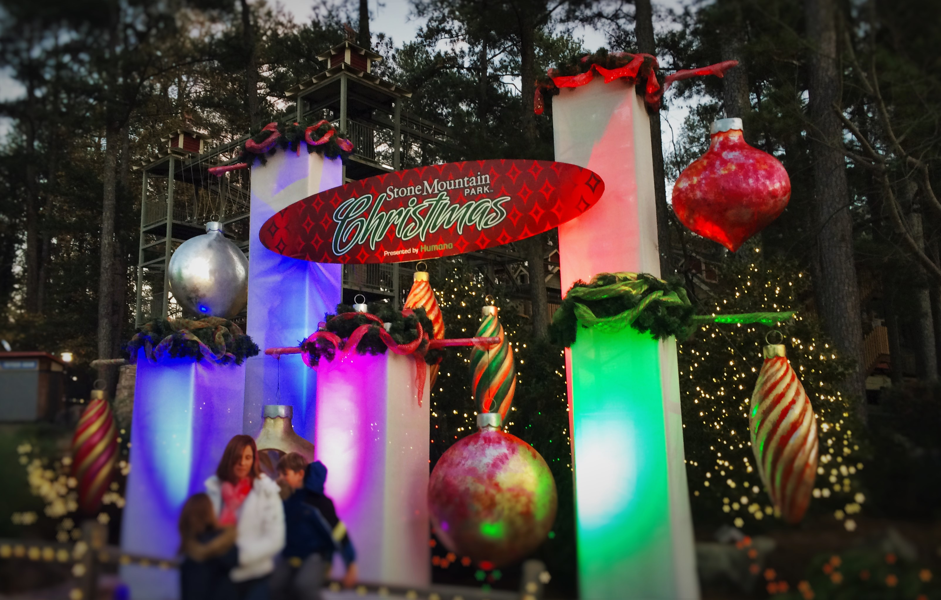 Stone Mountain Christmas.Um What S Up With Stone Mountain 2 Travel Dads