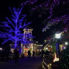 Christmas Lights in Stone Mountain Park in Atlanta Georgia 5