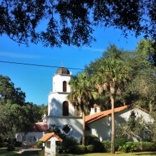Church while Biking St Simons Island GA 1