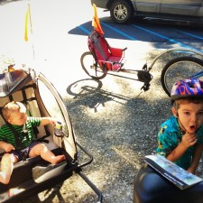 Dudes Getting Ready for Biking