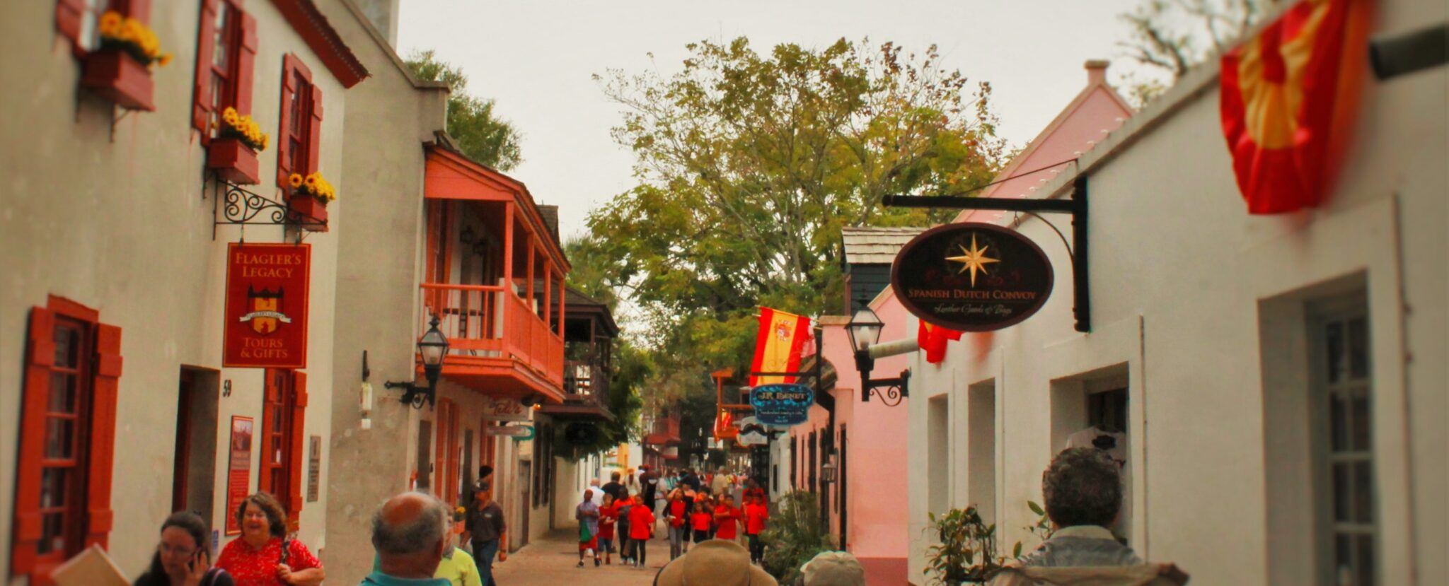 Colonial St Augustine alley header