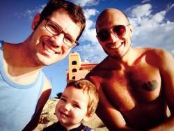 Taylor Family on Beach Playa Grande Cabo San Lucas Mexico 1