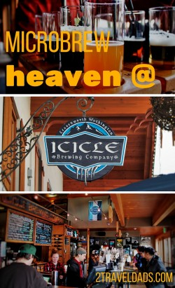Icicle Brewing Co in Leavenworth, Washington makes some unique and tasty microbrews. German chocolate cake... as a beer? Yes please! 2traveldads.com