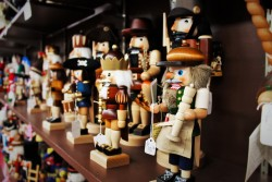 Nutcrackers in Museum Leavenworth WA 2