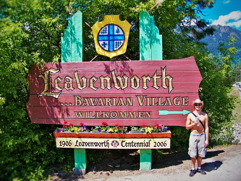 Rob Taylor Welcome to Leavenworth Washington