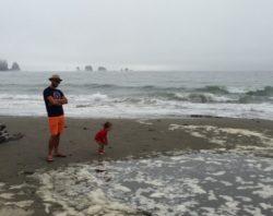 Rob Taylor and LittleMan La Push Olympic Peninsula