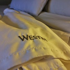 Bathrobes in Luxury Suite at Westin Seattle 1