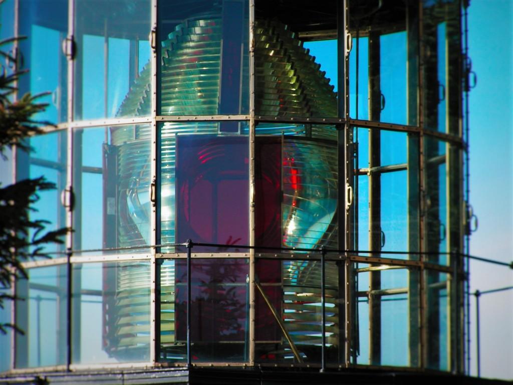 Cape Meares Lighthouse Lens Tillamook Oregon Coast 3
